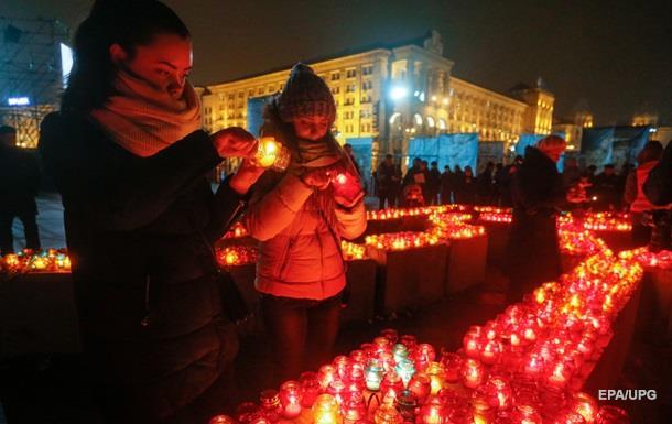 У Києві заходи пам яті героїв Небесної сотні минули спокійно
