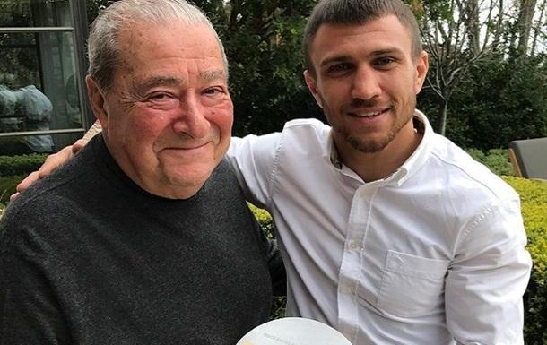 Ломаченко отримав нагороду найкращому боксеру року