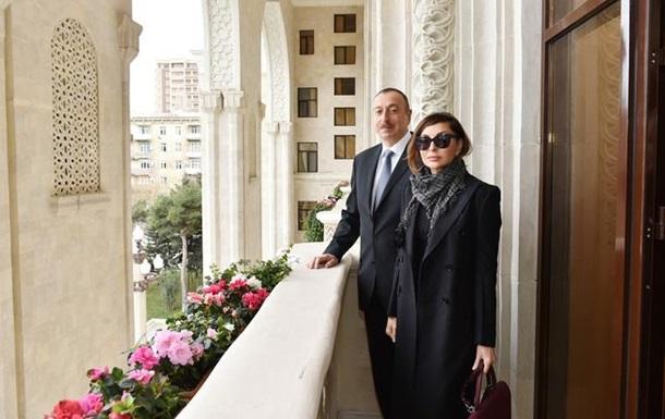 Алієв призначив свою дружину першим віце-президентом Азербайджану