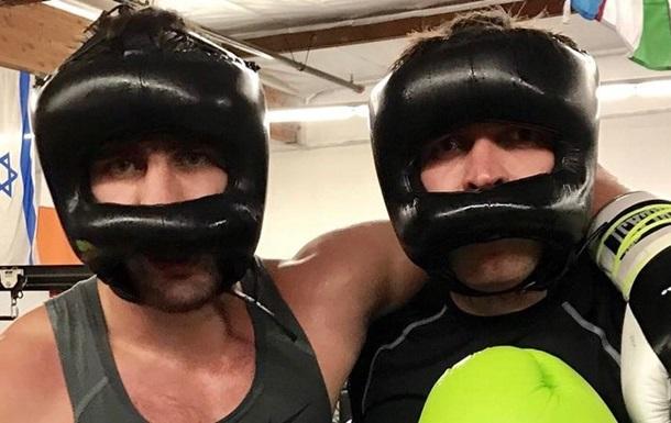 Усик і Гвоздик провели спільне тренування у США