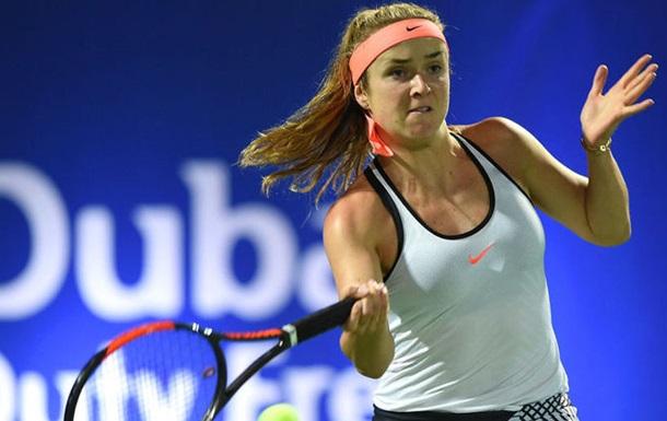 Світоліна пройшла в 1/4 фіналу турніру в Дубаї