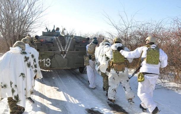 Київ розкрив кількість військ на лінії зіткнення