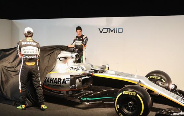 Force India представила новий болід