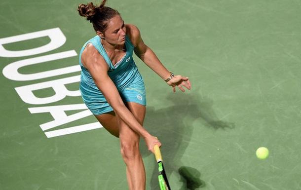 Бондаренко гідно залишила турнір у Дубаї