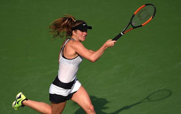 Теніс. Світоліна вийшла у півфінал турніру в Дубаї