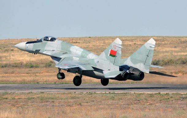 У Білорусі загорівся винищувач МіГ-29