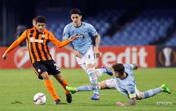 Шахтар - Сельта 0:2. Онлайн матчу Ліги Європи