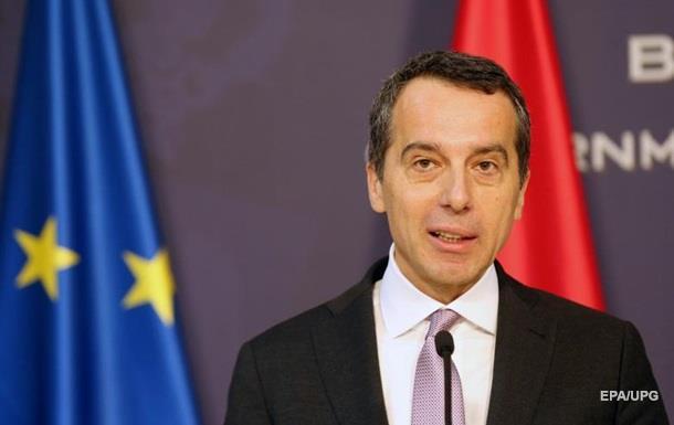 Австрія передбачає змінні санкції для Росії