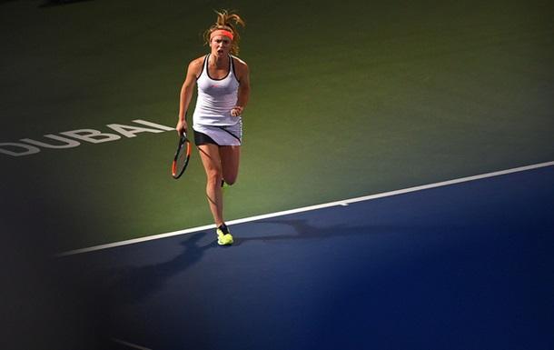 Свитолина обыграла Кербер и вышла в финал турнира в Дубае