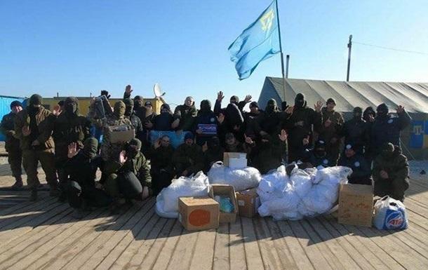 Крымские татары согласились пойти в морскую пехоту