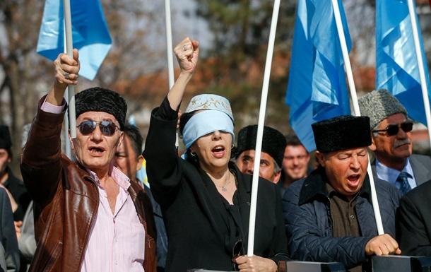 У Туреччині татари протестували проти анексії Криму