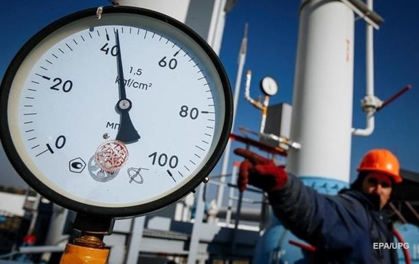 Украина сократила запасы газа на 43%