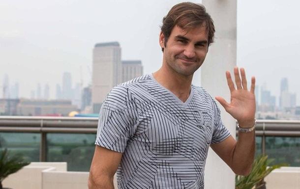 Федерер не вважає себе фаворитом турніру в Дубаї