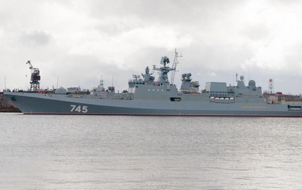 Росія відправила з Криму фрегат у Сирію - ЗМІ