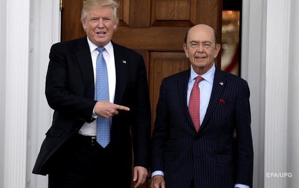 Сенат затвердив мільярдера Росса міністром торгівлі США