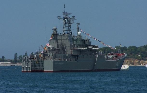 ВМС: У Криму розбирають на запчастини кораблі України
