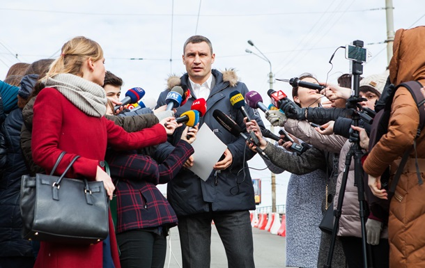 Кличко назвав причину обвалення Шулявського мосту