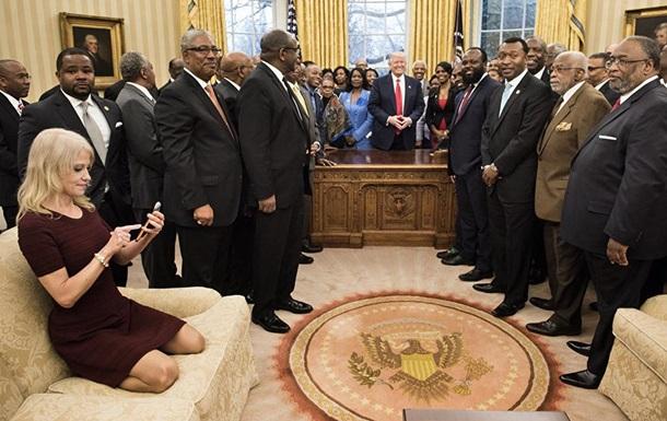 Розкуте фото радниці Трампа здивувало Мережу