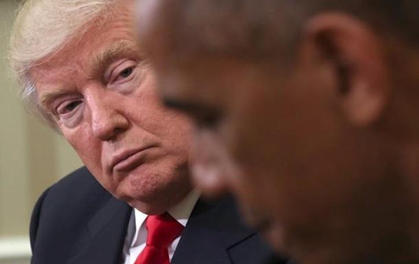Трамп обвинил Обаму в организации акций протеста