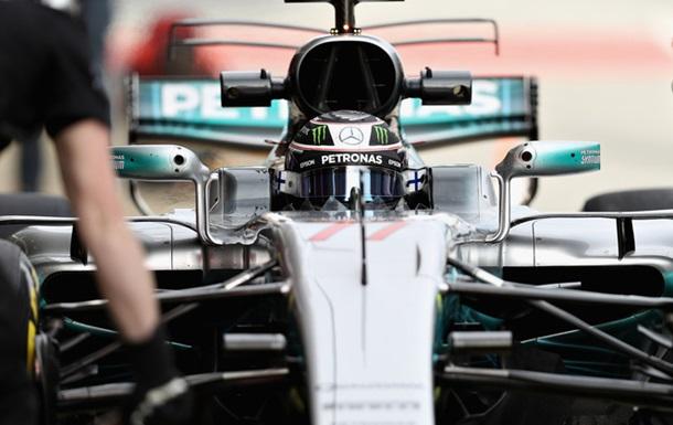 Боттас - найкращий в третій день тестів Формули-1