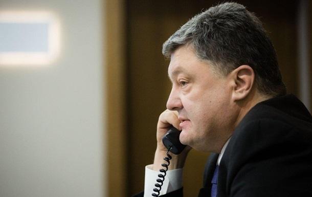 ЗМІ дізналися, про що поговорили Порошенко і Путін