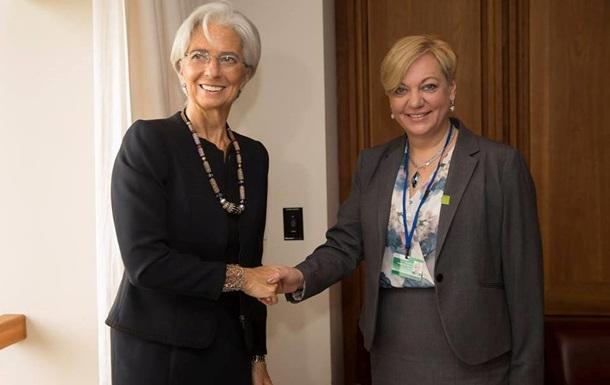 Гонтарева: Все вопросы с МВФ решены