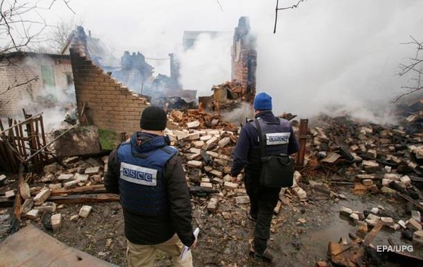 В ОБСЄ заявили про зростання кількості вибухів на Донбасі