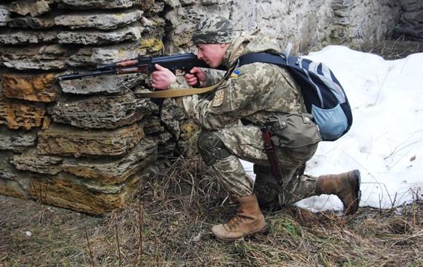 Сутки в АТО: один военный погиб, 15 ранены