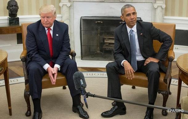 Обама стоїть за витоками про зв язки Трампа з Росією - ЗМІ