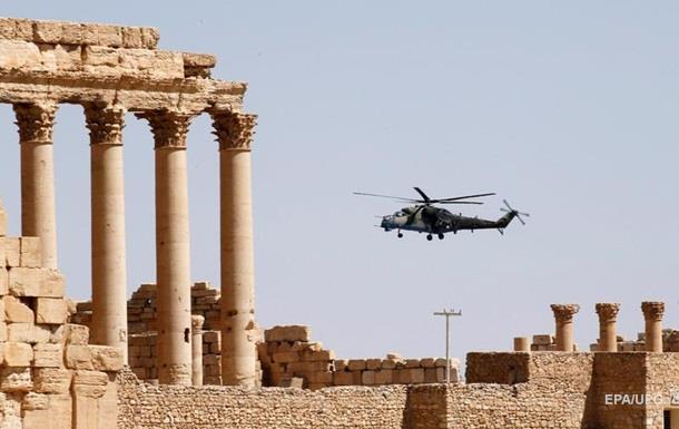 Освобожденную от ИГИЛ Пальмиру показали с коптера