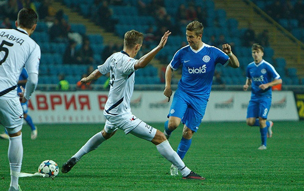 Дніпро і Чорноморець сильнішого не виявили, Динамо зіграє з Олімпіком