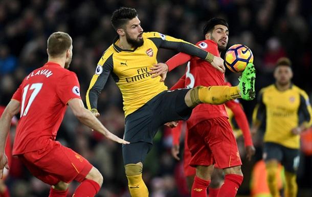 Прем єр-ліга: Ліверпуль обіграв Арсенал, Тоттенхем впорався з Евертоном