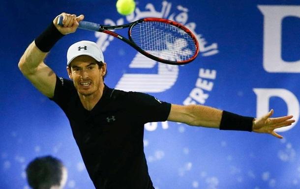 Маррей виграв престижний турнір у Дубаї