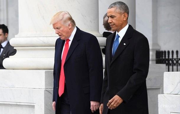 У Обамы отрицают прослушку телефонов Трампа