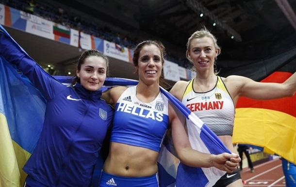 Українка Кіліпко завоювала медаль чемпіонату Європи з легкої атлетики