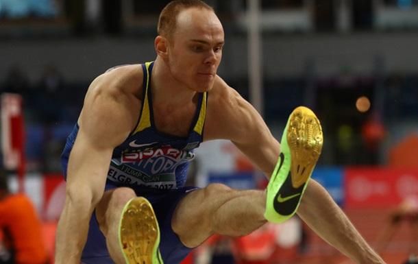 Український легкоатлет сантиметр не дострибнув до звання чемпіона Європи