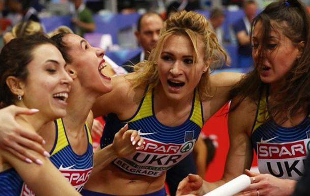 Легка атлетика: Україна завершила чемпіонат Європи бронзою в естафеті