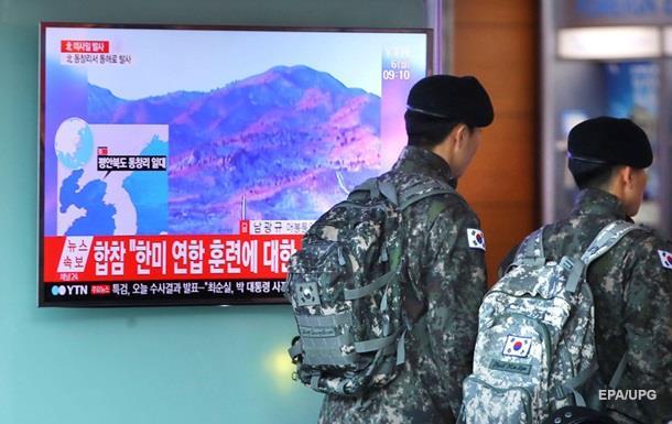 КНДР запустила відразу чотири балістичні ракети