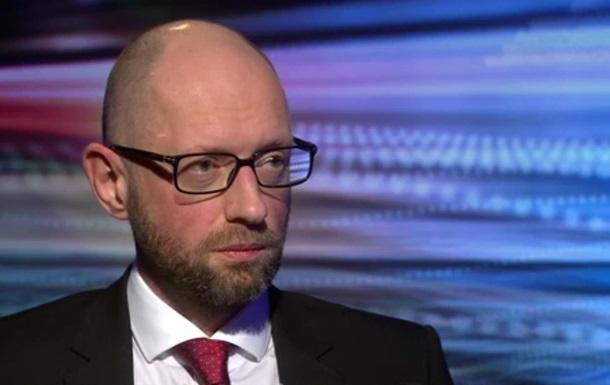 Яценюк насмішив BBC безстрашністю перед Росією