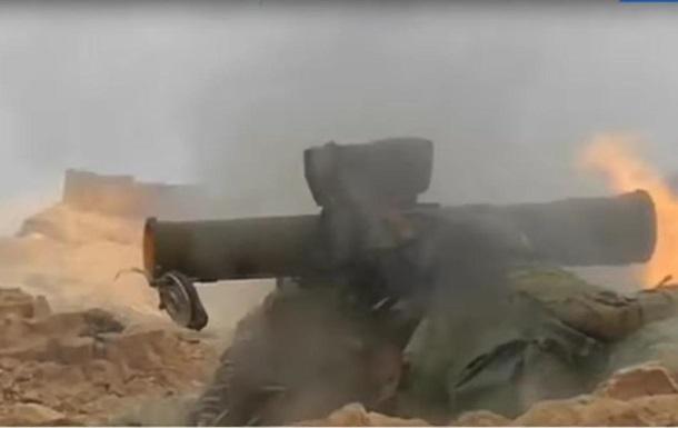 Росія показала роботу свого спецназу в Пальмірі