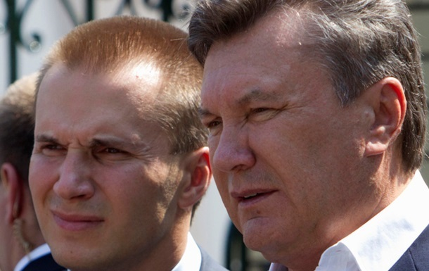 ГПУ: Гроші сина Януковича в банку заблоковані