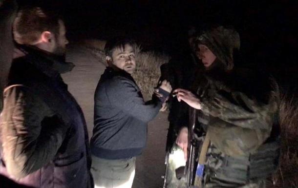 Помічник Чорновол збив учасника блокади