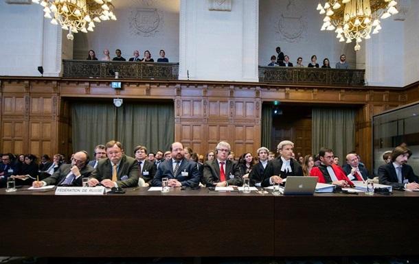Росія в Гаазі: позов України не в юрисдикції суду