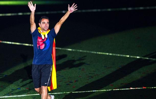 Хаві хотів би попрацювати тренером Барселони