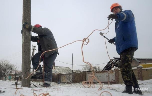 В Авдеевке восстановили электроснабжение