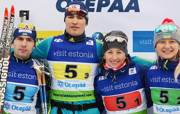 Віта Семеренко допомогла Україні здобути бронзу на етапі Кубку IBU