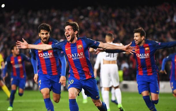Барселона зробила неймовірне, забивши ПСЖ шість м ячів