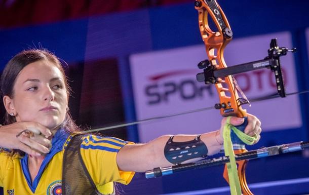 Стрельба из лука. Украинка Марченко вышла в финал чемпионата Европы