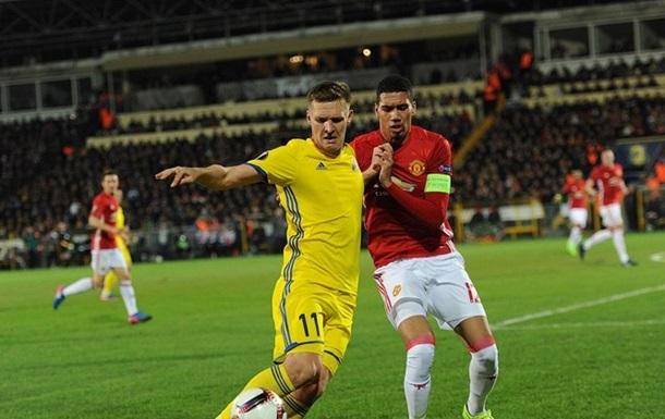 Лига Европы: Манчестер Юнайтед не сумел обыграть Ростов и другие результаты