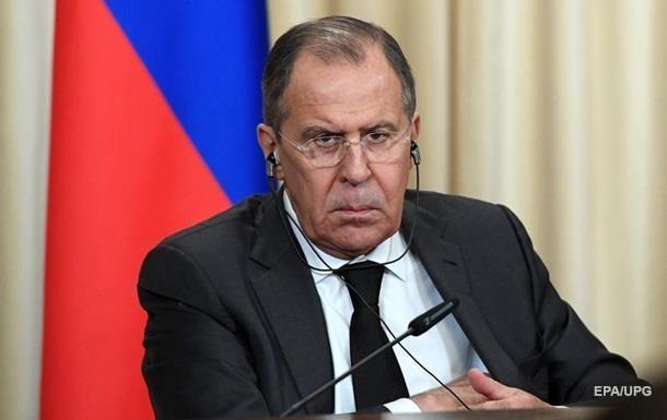 Лавров: Росія не просить Захід про зняття санкцій
